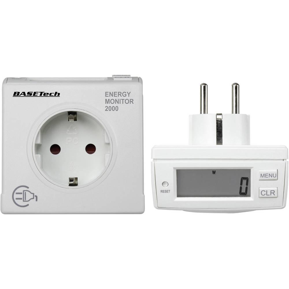 Merilnik stroškov energije Basetech EM 2000 Energy Monitor LCD 1 - 3680 W