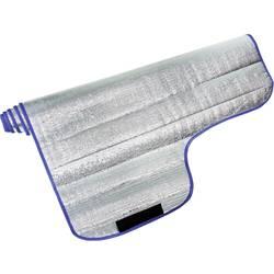 Pokrivalo za steklo na avtu Prevlečen z aluminijem, Zaščita pred krajo (Š x V) 150 cm x 95 cm DINO Aluminij (poliran)
