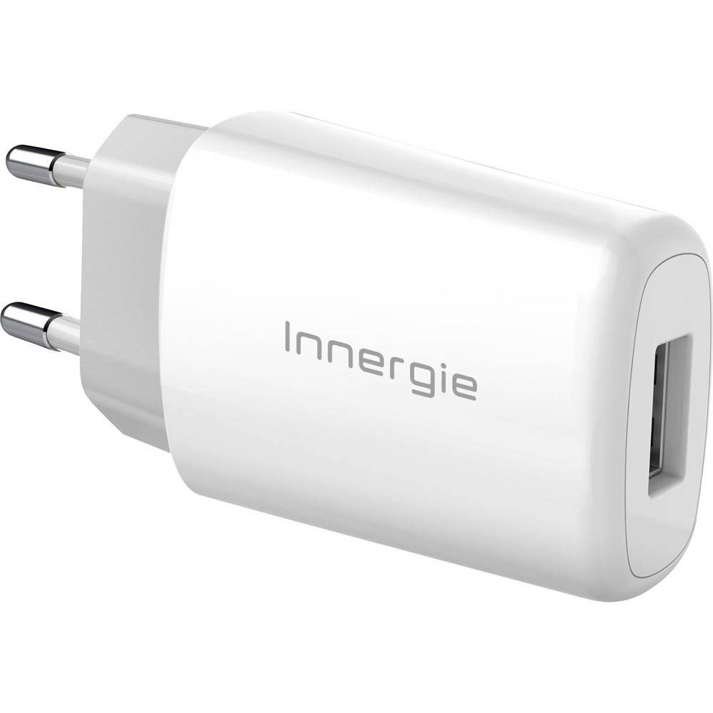 USB-oplader Innergie ADP-10LW RA ADP-10LW RA Stikdåse Udgangsstrøm max. 2100 mA 1 x USB (value.1390762)