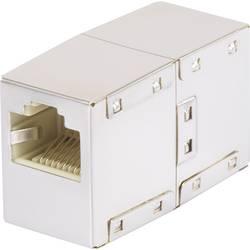 RJ45 (value.1258279) Netværk Adapter Renkforce CAT 5e [1x RJ45-Buchse (value.1390951) - 1x RJ45-Buchse (value.1390951)] 0 m Hvid