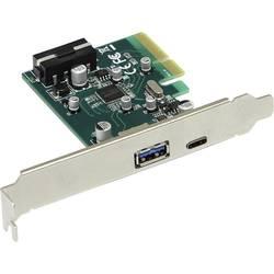 2 Port USB 3.1 kontrollerkort USB-A, USB-C PCIe x4 Joy-it
