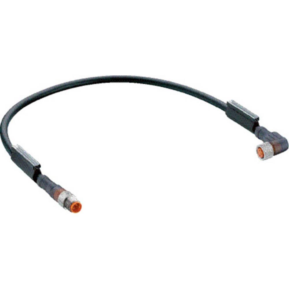 Sensor-, aktuator-stik, Belden RSMV 3-RKMWV 3-224/0,6M 1 stk