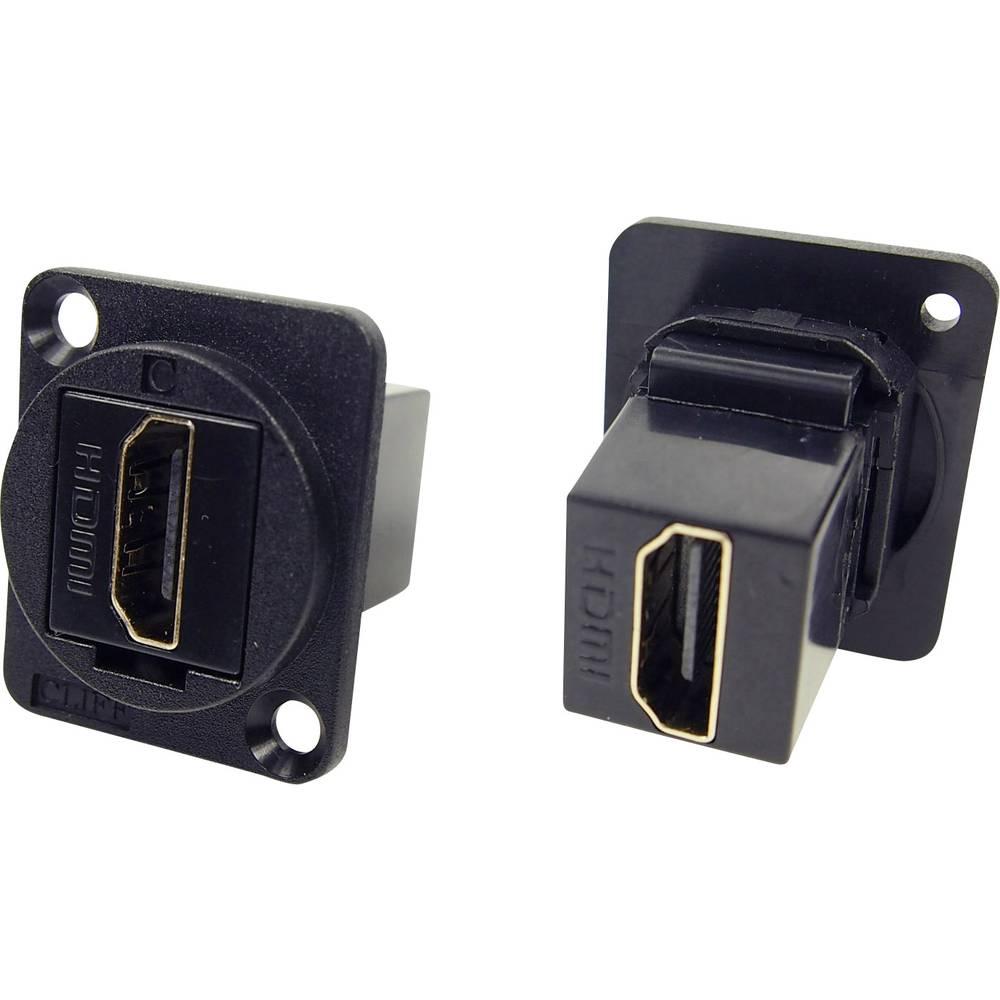 Cliff CP30200G HDMI A-hunstik Sort 1 stk