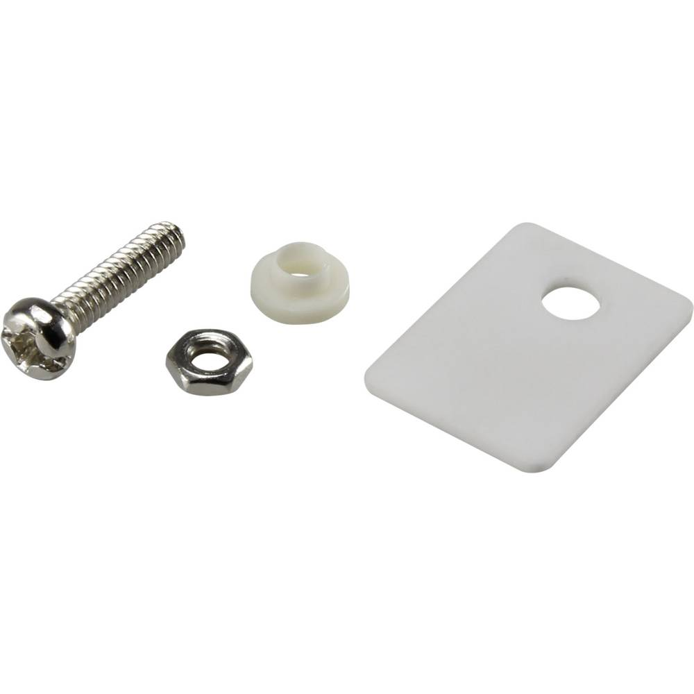 Set montažnega materiala za polprevodnike (D x Š) 18 mm x 13 mm primeren za TO-220 SCI A18-10A 1 set