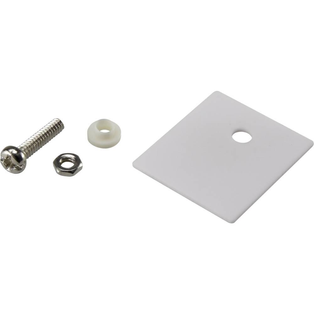 Set montažnega materiala za polprevodnike (D x Š) 25 mm x 22 mm primeren za TO-218 SCI A18-10C 1 set