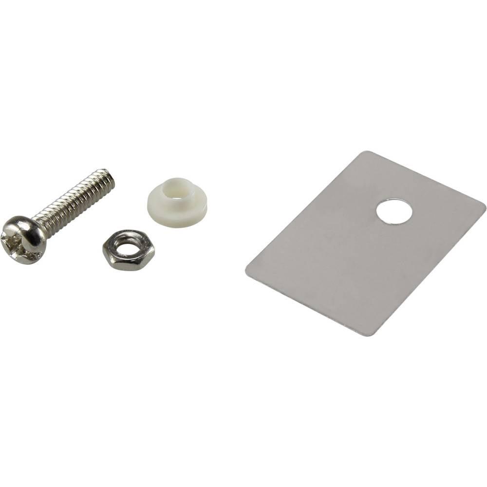 Set montažnega materiala za polprevodnike (D x Š) 22.3 mm x 15.2 mm primeren za TO-247 SCI A18-10D 1 set