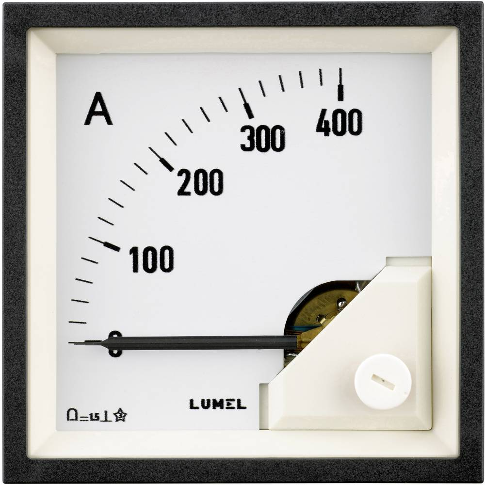 Lumel MA19 400A/60mV ugradbeni mjerni uređaj 96 x 96 mm 400 A/DC (60 mV) pomični svitak
