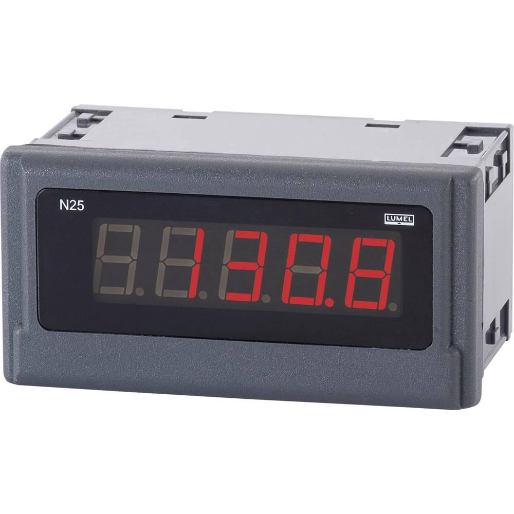 Lumel N25 S250000E0 digitalni ugradbeni mjerni uređaj 4 - 20 mA/DC montažne mjere 96 x 48 mm