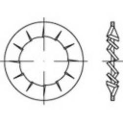 Tandade brickor TOOLCRAFT 138472 5.3 mm DIN 6798 Fjäderstål 500 st