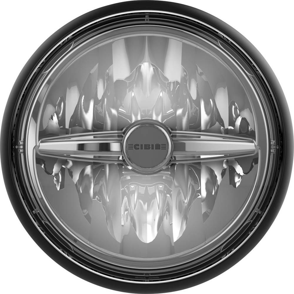 Daljinski žaromet Mini Oscar LED črne barve LED CIBIE () 145 mm