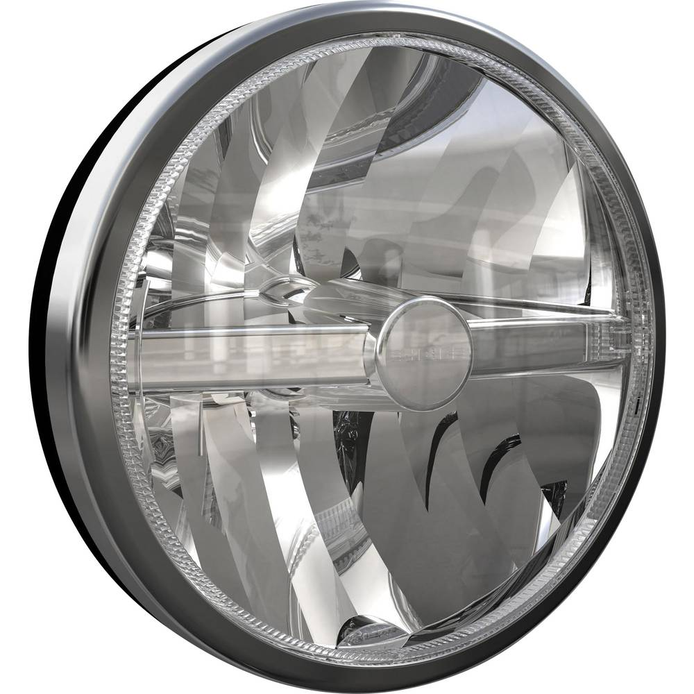 Projektør Super Oscar LED F LED CIBIE (Ø) 222 mm Sort, Krom