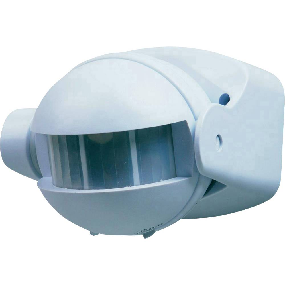 Vgradni PIR-senzor gibanja Smartwares 10.017.10 180 ° bele barve IP44