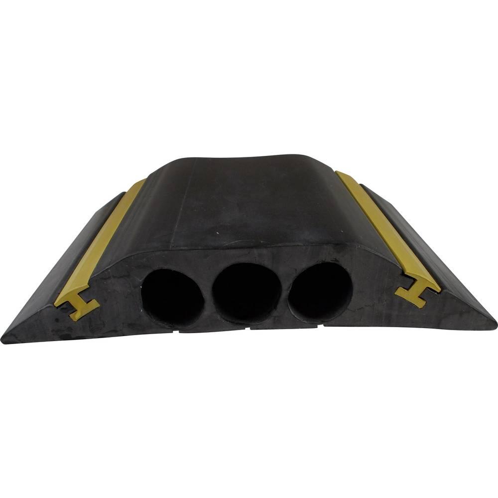Talna zaščita za kable , industrijski, HI-VIZ3 (D x Š x V) 4500 x 178 x 30 mm črne barve Vulcascot vsebuje: 1 kos