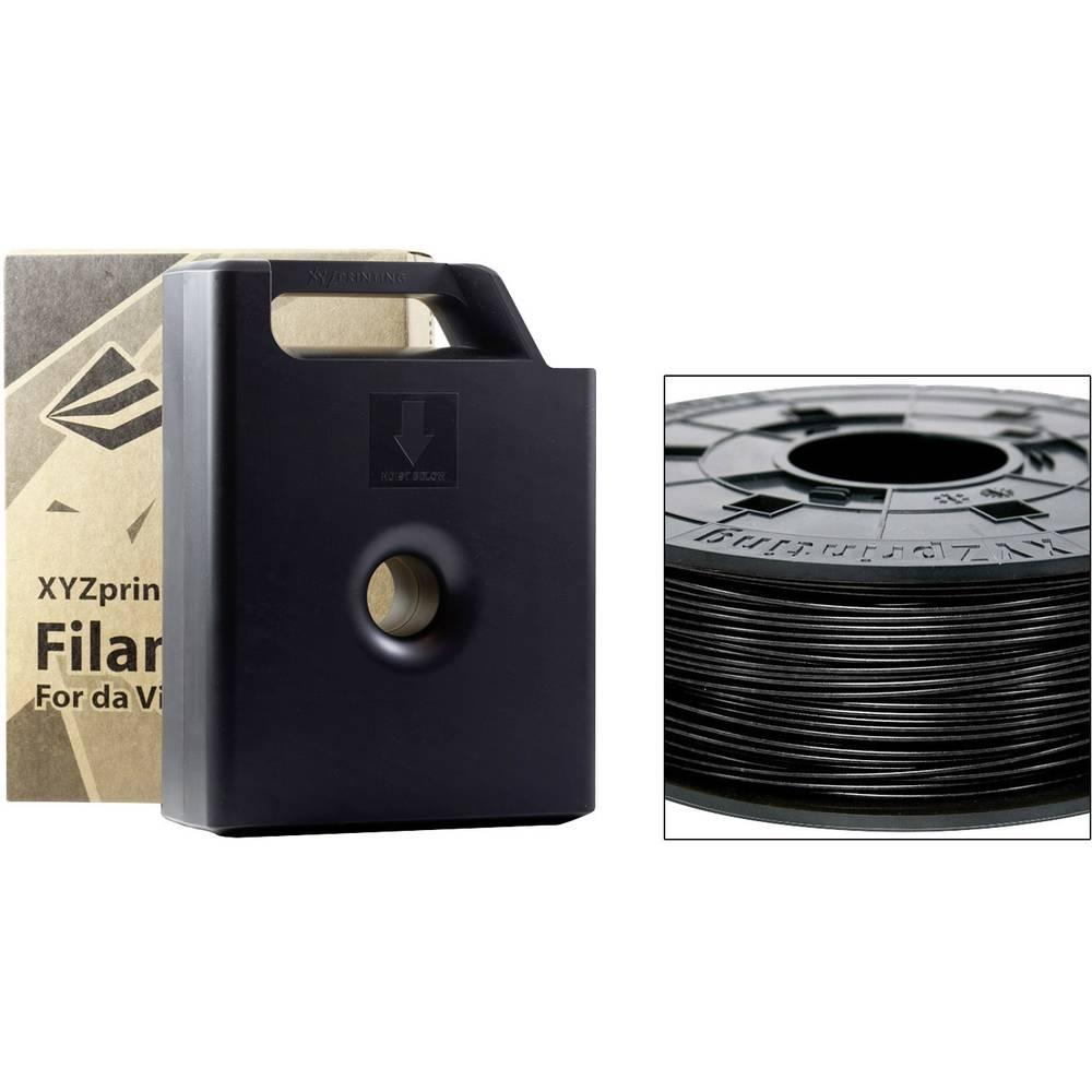 Filament XYZprinting ABS 1.75 mm črne barve 600 g kartuša