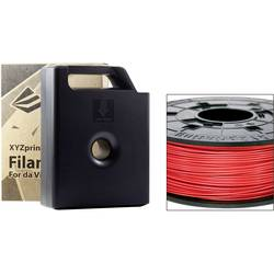 3D-skrivare Filament XYZprinting ABS-plast 1.75 mm Röd 600 g Kassett