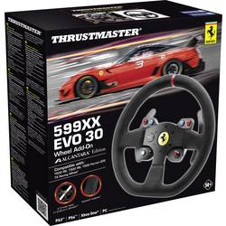Ratt Add-On Thrustmaster 599XX EVO 30 Wheel Add-On Alcantara Edition Xbox One, PlayStation® 3, PlayStation® 4, PC Svart