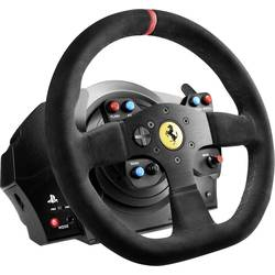 Ratt Thrustmaster T300 Ferrari Integral Racing Wheel Alcantara Edition PlayStation® 4 Svart inkl. Pedal