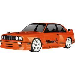 RC-modelbil 1:10 HPI Racing BMW M3 E30 Brushed Elektronik Vejmodel 4WD 100% RtR 2,4 GHz