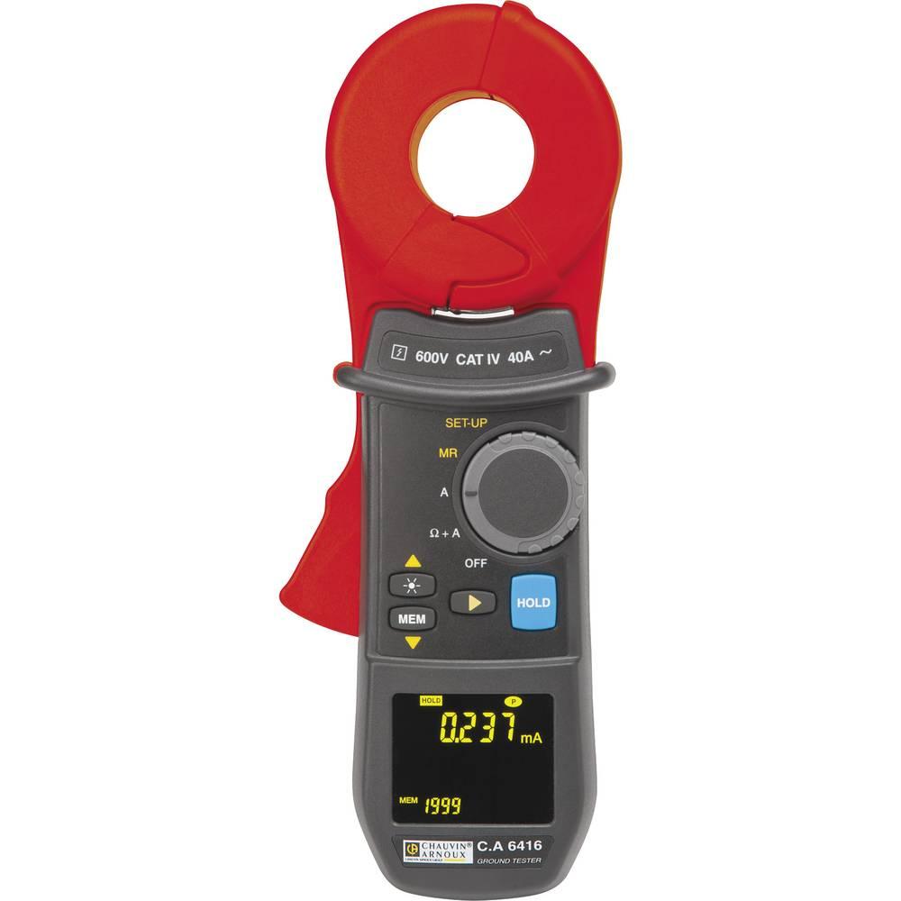 Chauvin Arnoux strujna kliješta za mjerenje uzemljenja, tester upornosti uzemljenja 600 V CAT IV