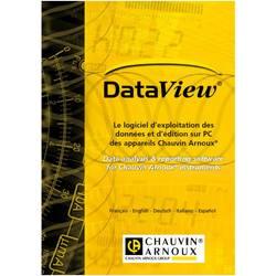 Chauvin Arnoux programska oprema DataView, primerna za C.A 8331 · C.A 8333 · C.A 8336 · C.A 8435 · C
