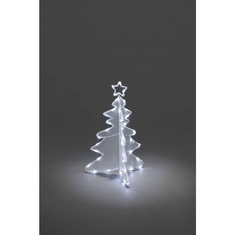 LED božična dekoracija božično drevo LED Konstsmide 3920-203 bela