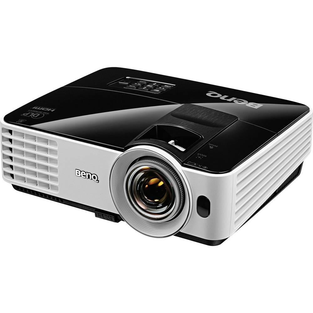 DLP Projektor BenQ MX631ST svetlost: 3200 lm 1024 x 768 XGA 13000 : 1 črna, bela