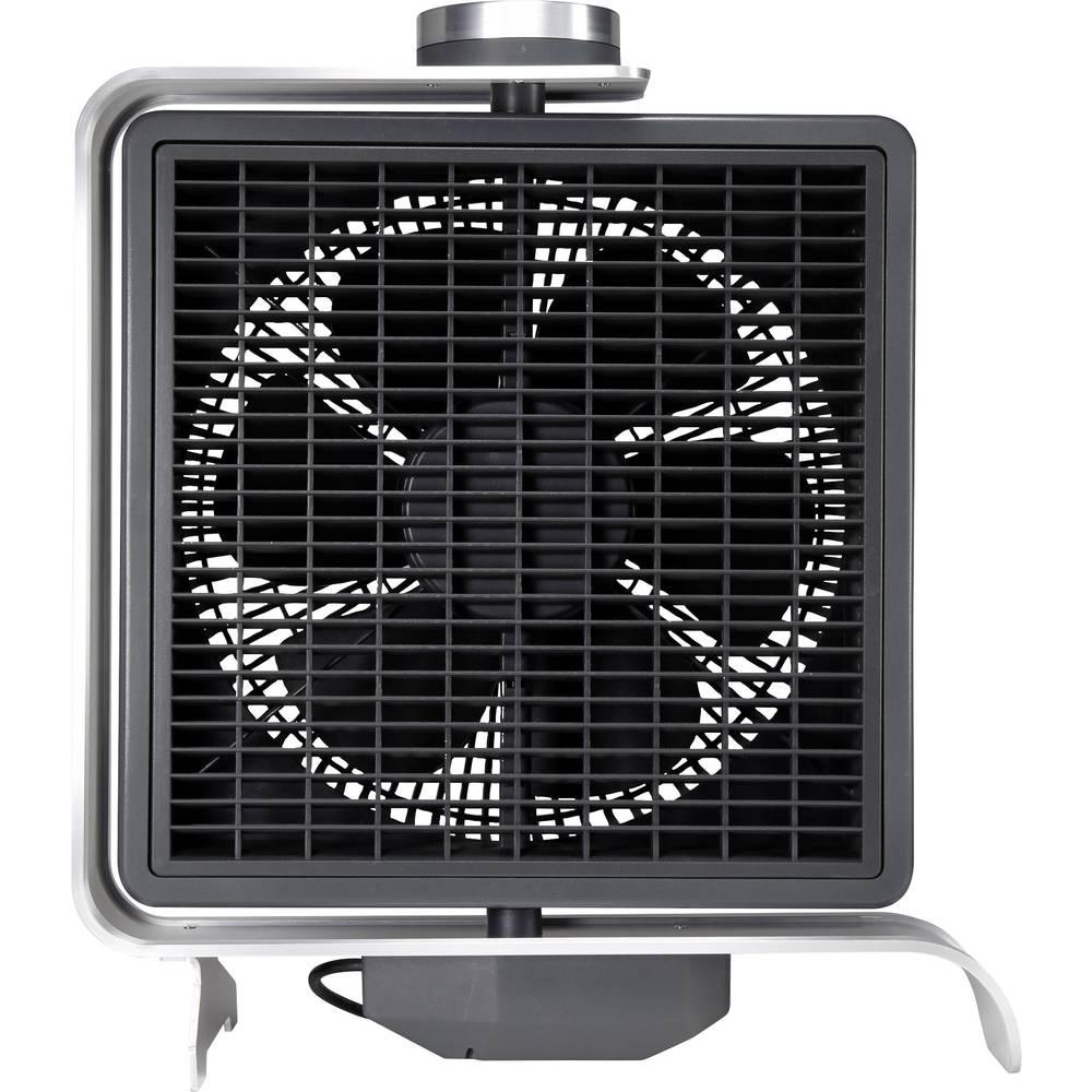 Stolni ventilator sygonix FN2110 50 W crna, srebrna