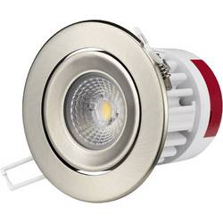 LED-inbyggnadsbelysning LG Electronics 9.5 W Varmvit Aluminium (borstad)