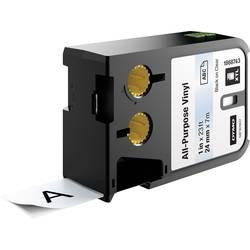 DYMO XTL Vinilni pisalni trak za splošne namene Barva traku: Transparentna Barva pisave: Črna 24 mm 7 m