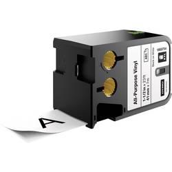 DYMO XTL Vinilni pisalni trak za splošne namene Barva traku: Bela Barva pisave: Črna 41 mm 7 m