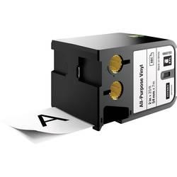DYMO XTL Vinilni pisalni trak za splošne namene Barva traku: Bela Barva pisave: Črna 54 mm 7 m