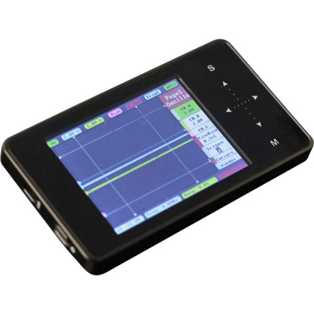 Ročni osciloskop (Scope-Meter) Seeed Studio TOUCH 2-kanalni 10 MSa/s 8 kpts 8 bitni digitalni pomnilnik (DSO), mešani signal (MS