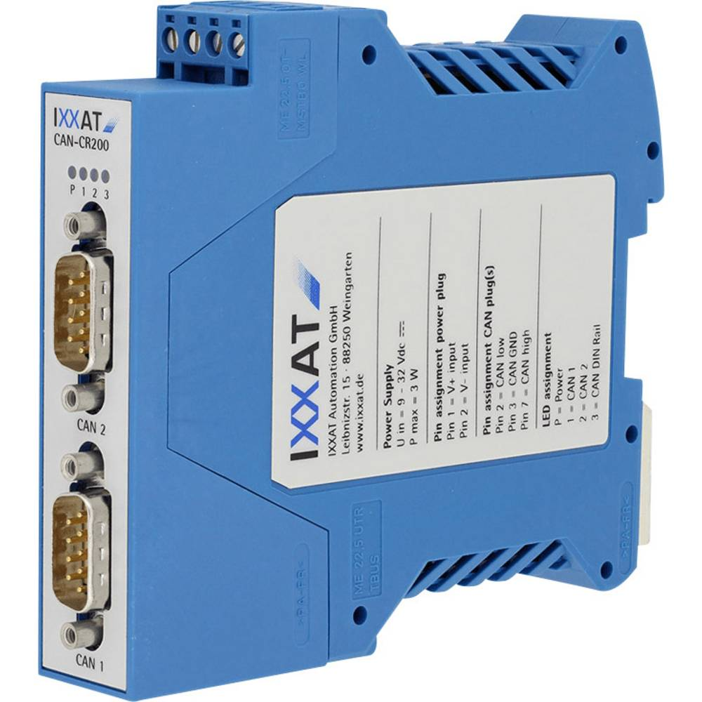 CAN repeater CAN Bus Ixxat 1.01.0067.44010 delovna napetost: 12 V/DC, 24 V/DC