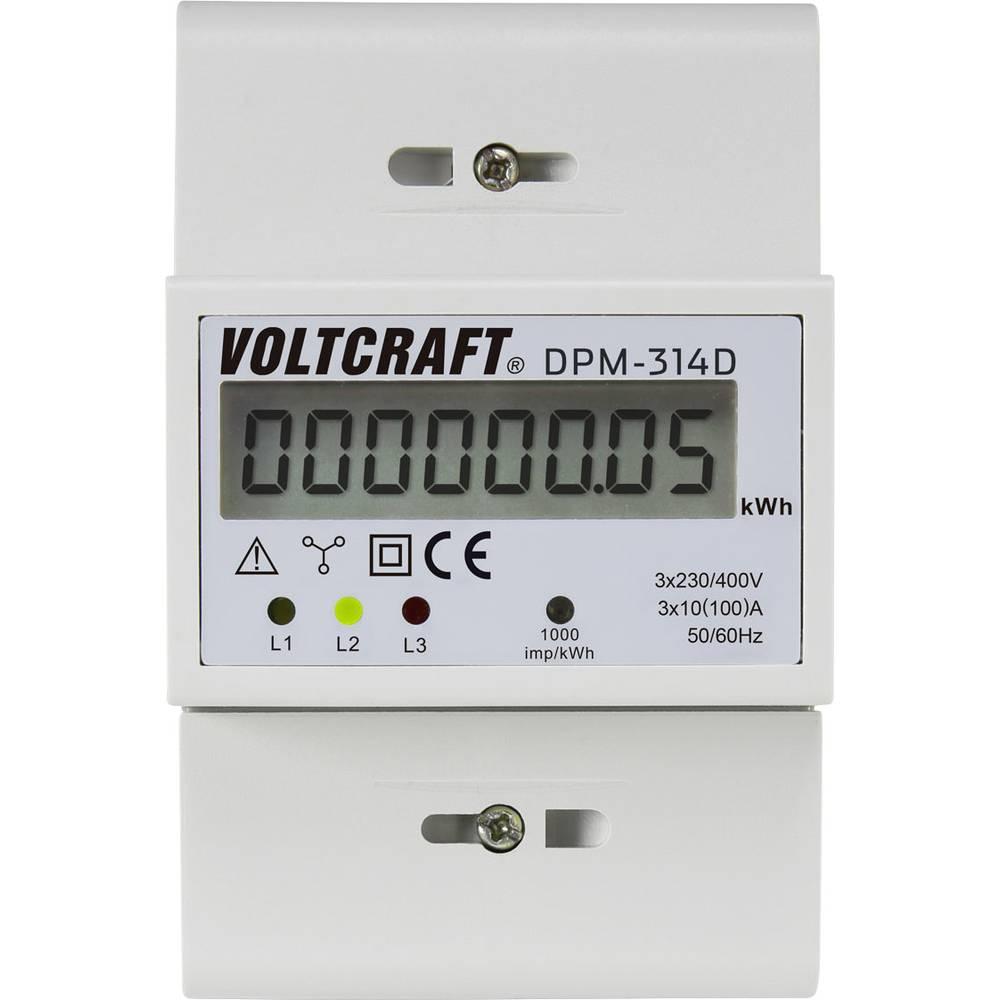 Števec električnega toka digitalni 100 A MID-odobritev: Ne VOLTCRAFT
