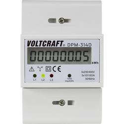 Elmätare 3-fas VOLTCRAFT DPM-314D digital 100 A