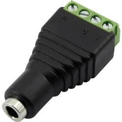 Jack utični konektor 3.5 mm Žženski konektor, ravni Broj polova: 4 Stereo Crna TRU COMPONENTS 93013c1120 1 ST
