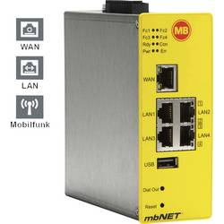 Industri router USB, LAN, 3G, RS-232, RS-485 MB Connect Line GmbH