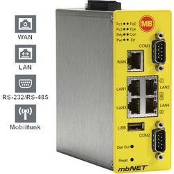 Industri router USB, LAN, LTE, RS-232, RS-485 MB Connect Line GmbH