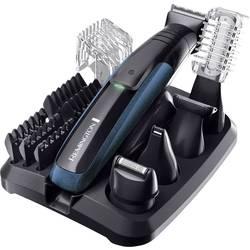 Strižnik las in brade Remington PG6150 GroomKit Plus pralen USB polnjenje črn, moder