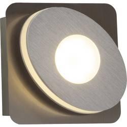 LED stenska svetilka 4 W topla bela Brilliant Crossing G08511/21 nikelj, aluminij