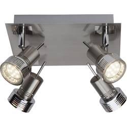 LED stropni reflektor GU10 12 W Brilliant Kassandra G34735/77 krom (satinirani)