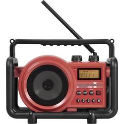 FM Byggradio PerfectPro Toughbox 2 AUX, MW, FM Röd