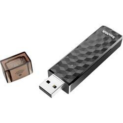 USB-minne Mobil/Tablet USB 2.0, WiFi SanDisk Connect™ Wireless Svart 16 GB