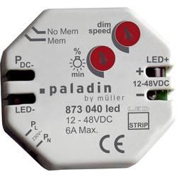 Planmonteret dæmper Müller 873040 led Egnet til lyskilder LED-striber Grå 1 stk