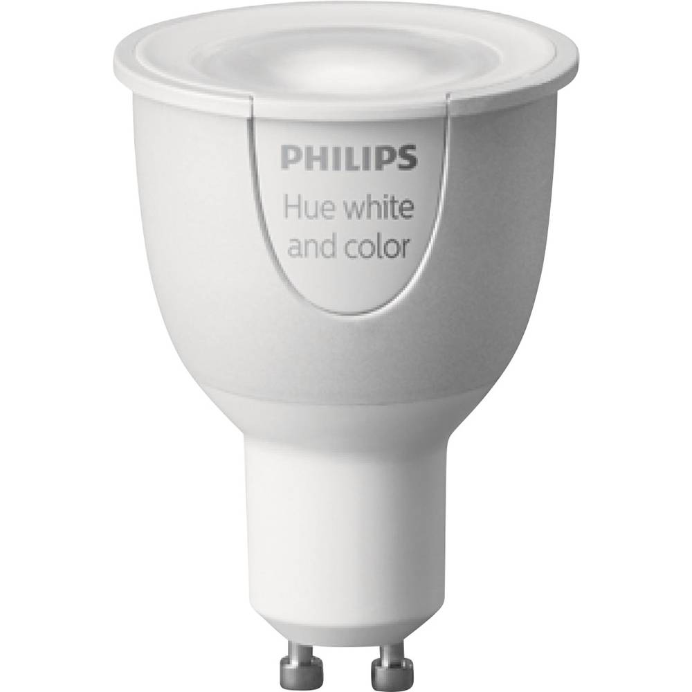 Hue LED-lampa (1 st) Philips Lighting White and color ambiance GU10 6.5 W RGBW