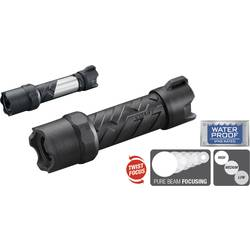 LED žepna svetilka Coast Polysteel 200 baterijska 250 lm 116 g črn, siv