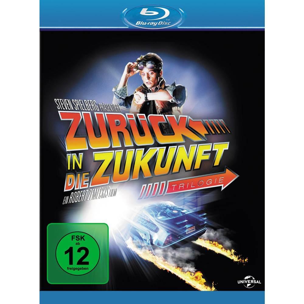 Povratak u budućnost trilogija Blu-Ray FSK: 12