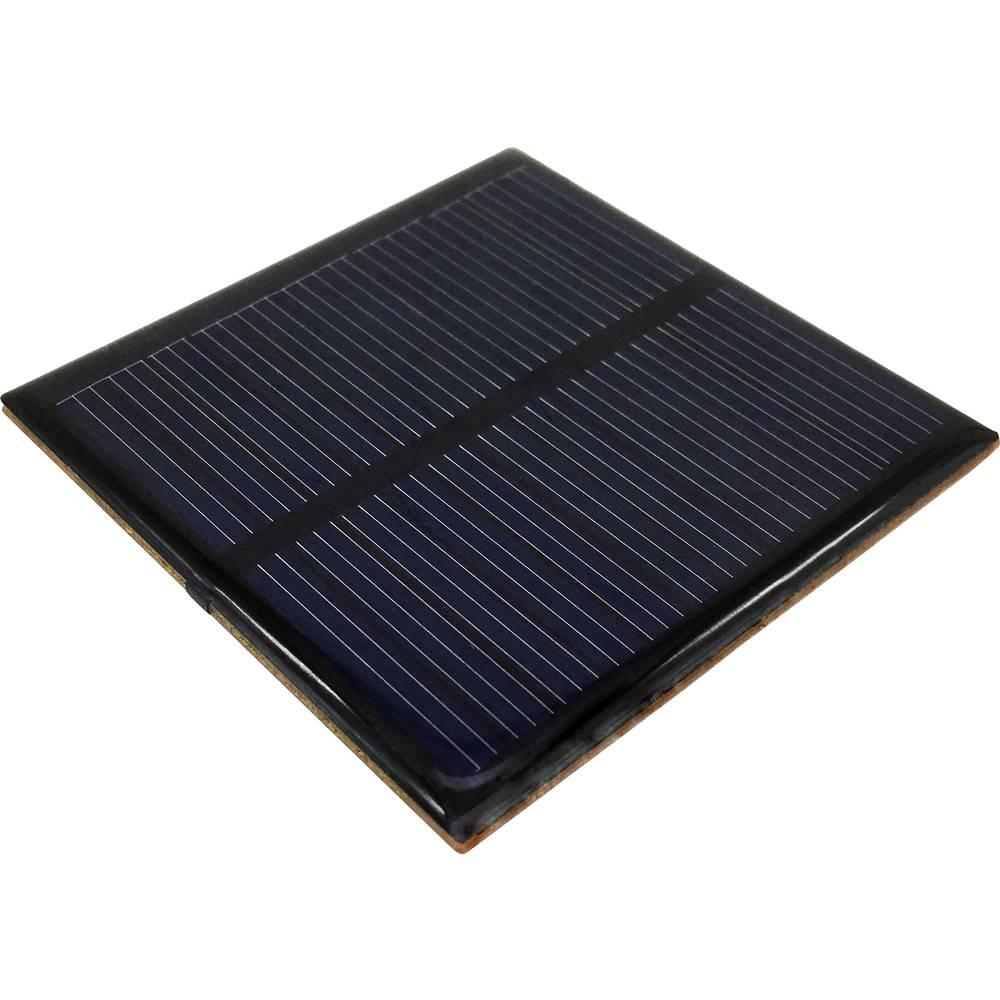 Solarna ćelija POLY-PVZ-6060-5V 6 V/DC 0.065 A 1 kom. (D x Š x V) 60 x 60 x 3.1 mm