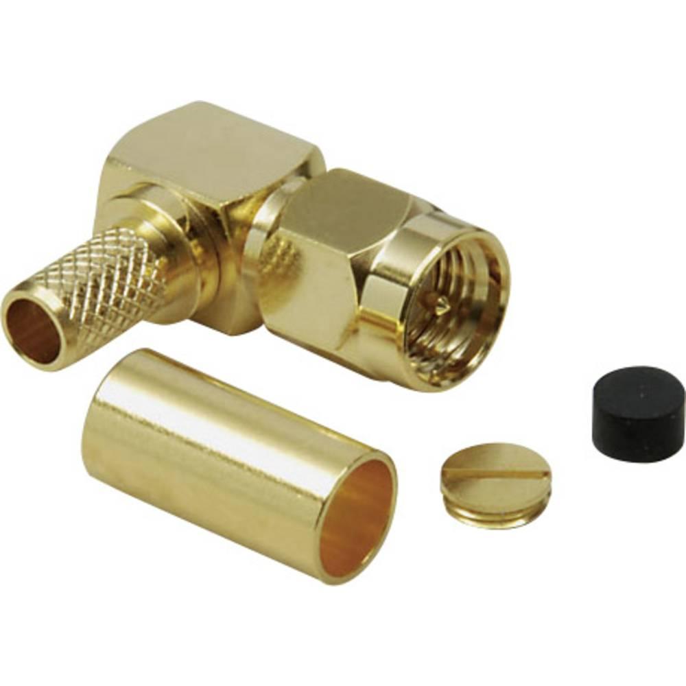 SMA-stikforbindelse BKL Electronic 0409081 50 Ohm Stik, vinklet 1 stk