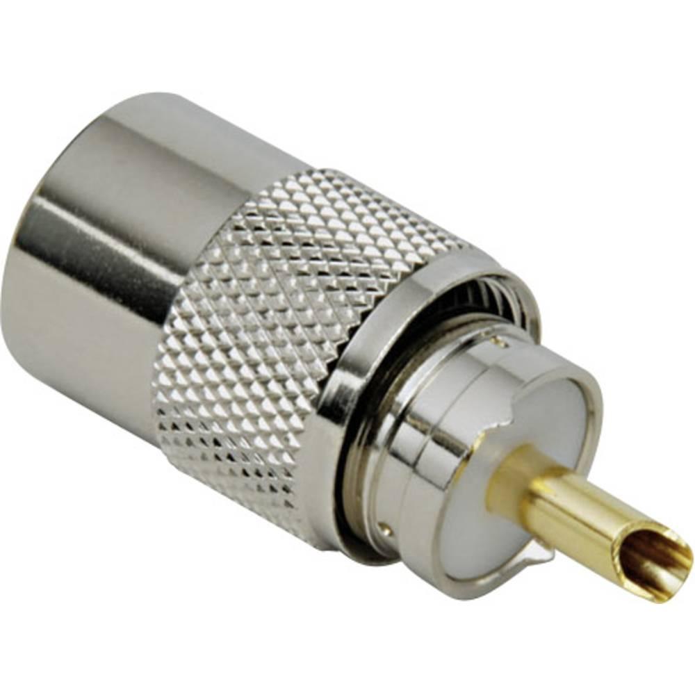 UHF-stikforbindelse BKL Electronic 0406011 75 Ohm Stik, lige 1 stk